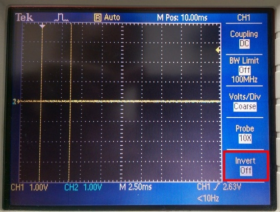 Invert-示波器的方便選項