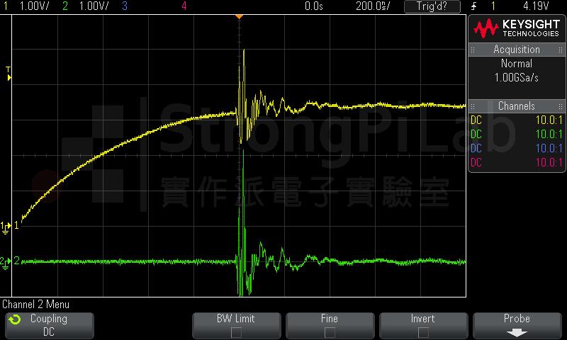 加電容並無助於減少 EMI 電磁干擾