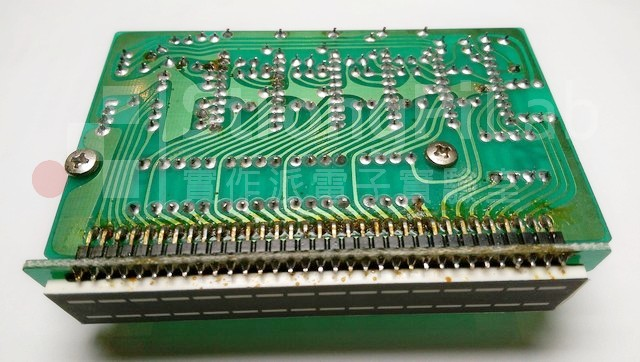 擴大機-原始的音量LED指示面板