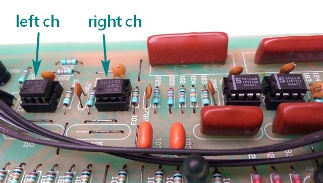 音調調整放大器OP2