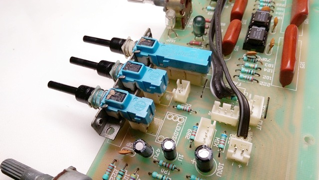 擴大機-前置放大器-音調開關