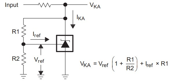 Programmable voltage reference sample circuit