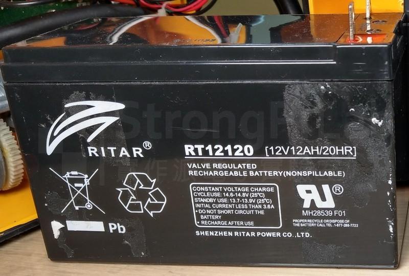 汽車備用電池-已經故障的鉛酸電池