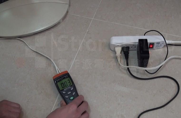 一般L/N黏在一起的電源線-電磁波較小