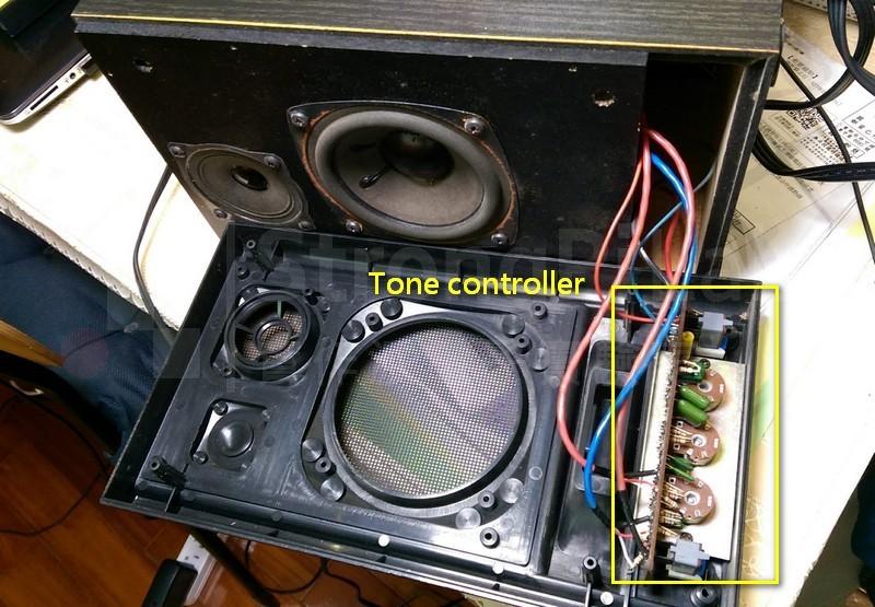 喇叭面板的調音電路