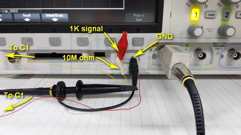 汽車外殼 對地等效電容 的測試環境
