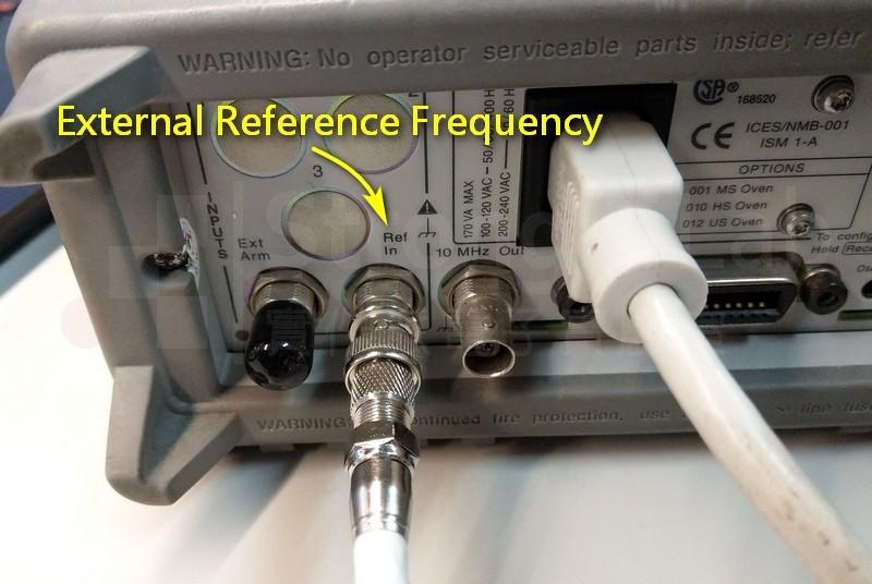Counter 參考外部頻率